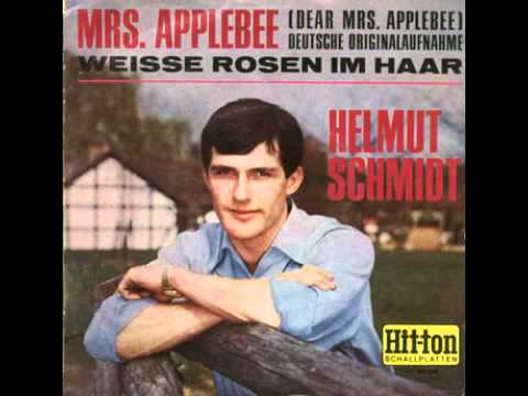 Helmut Schmidt - Mrs. Applebee (german version of David Garrick - Dear Mrs. Applebee)