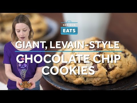 How to Make Thick, Levain-Style Chocolate Chip Cookies | Serious Eats