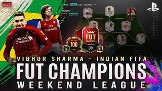 FIFA 20 LIVE INDIA || FUT CHAMPS LAST DAY 3 LIVE STREAM WITH PS4 CONTROLLER😥 || #PS4 #INDIANFIFA