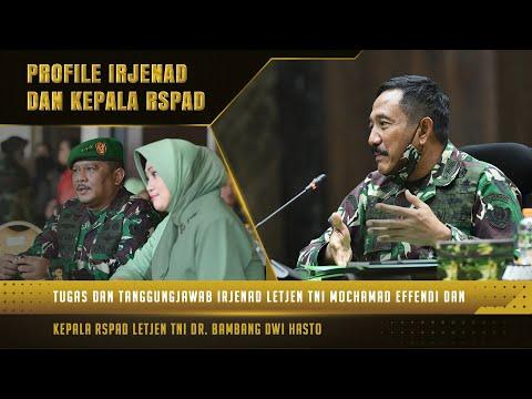 Kepala RSPAD dan Irjenad mendapat Promosi Kenaikan Pangkat menjadi Letnan Jenderal