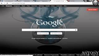 cambiar la imagen de fondo del google 2014