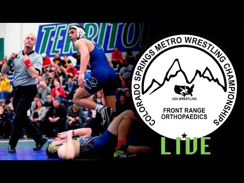 2014 Colorado Springs Metro Championships Semifinals Live - Mat 2