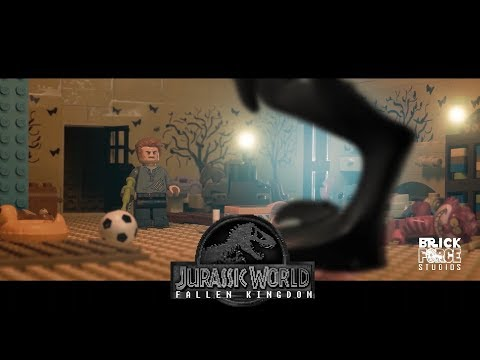 JURASSIC WORLD: Fallen Kingdom in LEGO -  Final trailer