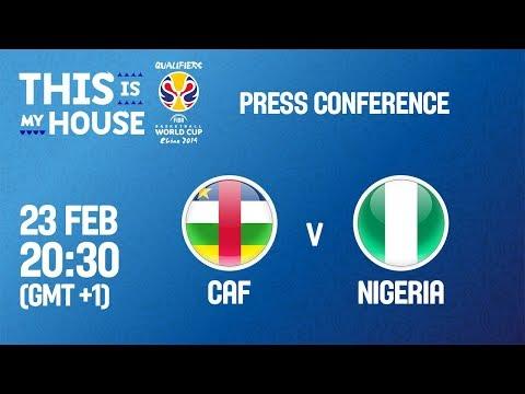 CAF v Nigeria - Press Conference