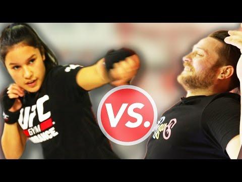 Kid MMA Fighter Vs. Adults