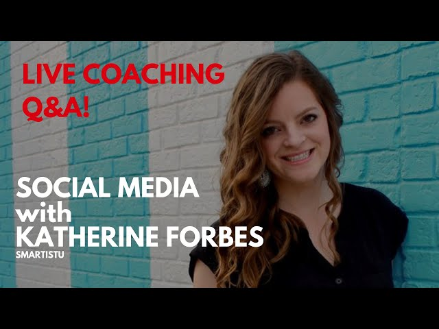 LIVE Q&A 9: Social Media with Katherine Forbes (Designing The Row)