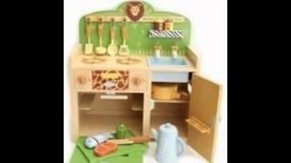 Wood Kids Kitchen