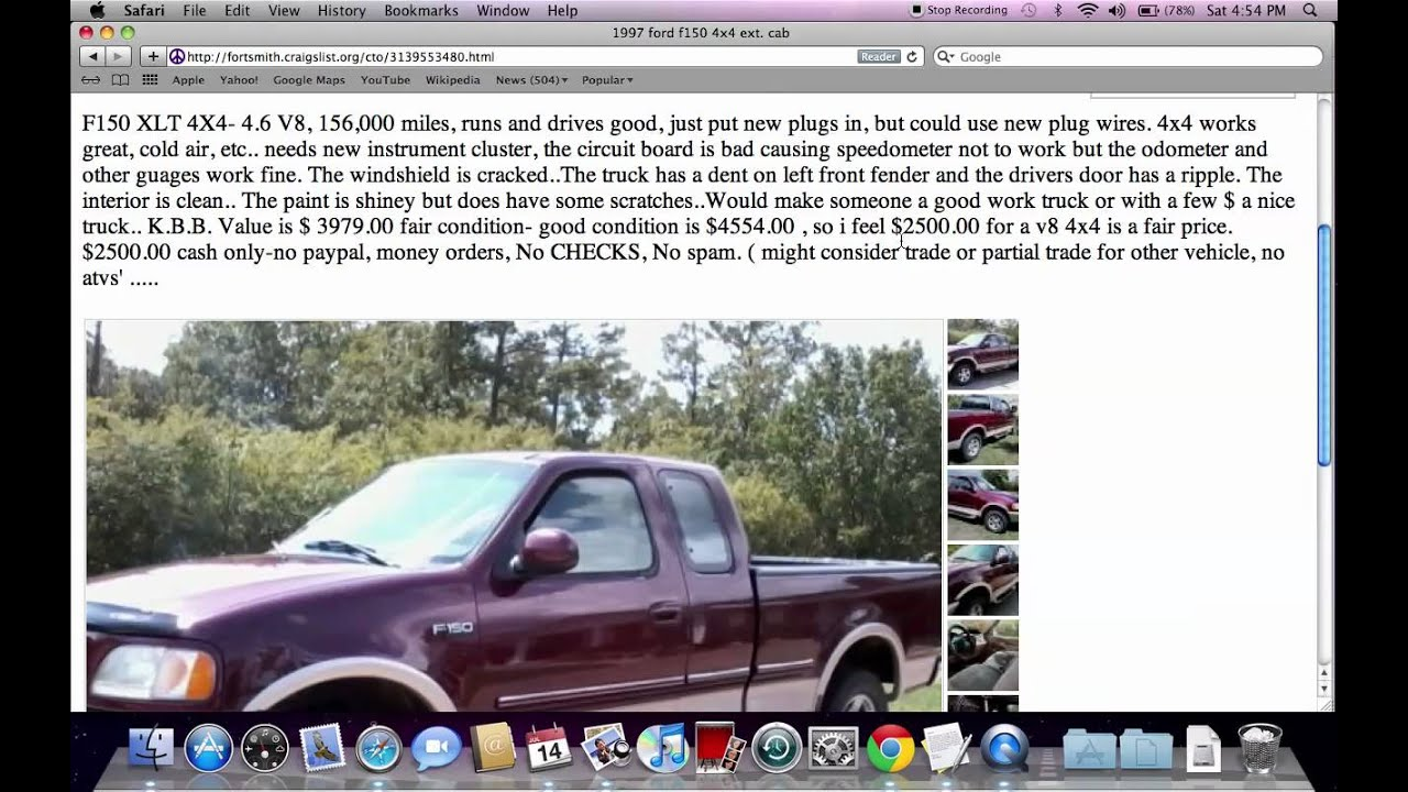 Craigslist fort smith arkansas used cars popular for sale by owner deals under 1000 youtube