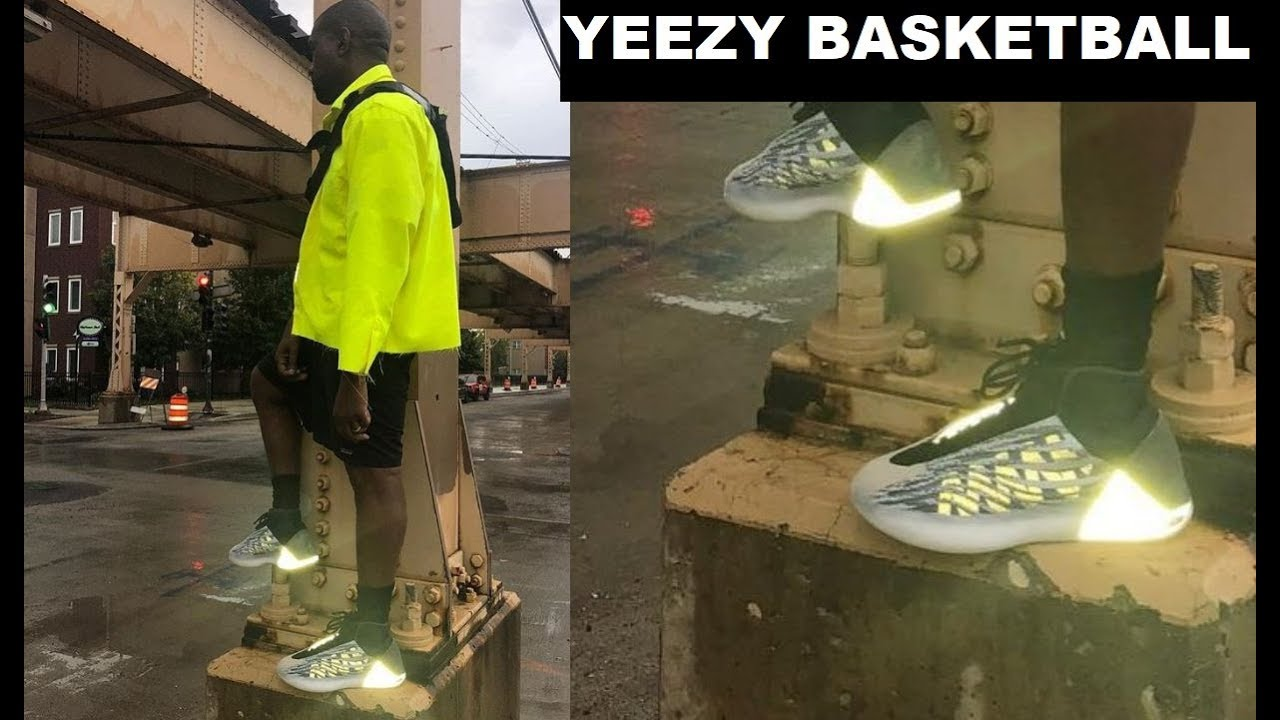 buy popular b6563 f22ce KANYE WEST UNVEILS ADIDAS YEEZY BASKETBALL SNEAKER