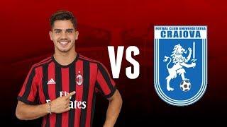 André Silva VS CS U Craiova | AC Milan - UEFA Europa League | 03-08-2017 | Milan Actu HD
