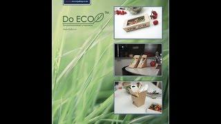 Ланчбокс пищевая упаковка DoECO(Экологически чистая упаковка. При ее производстве используются биоразлагаемые материалы, бумага, PLA пленоч..., 2015-01-23T19:55:57.000Z)