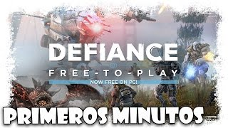 Defiance Gameplay Español  | Primeros Minutos | MMOrpg Shooter