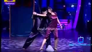 Deepak and Pankti ROMANTIC EPISODE aankho se tune ye kya kah diya on Bharat ki shaan lets dance,