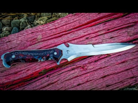 MAKING RESIDENT EVIL 4 KRAUSER KNIFE Part 1