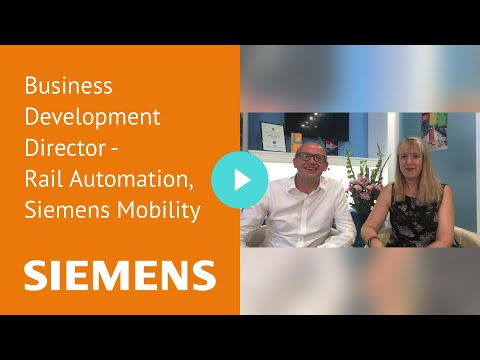 Business Development Director - Rail Automation, Siemens Mobility