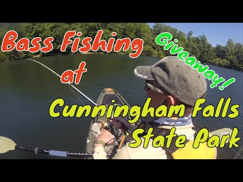 Fishing At Cunningham Falls State Park - Plus Giveaway! ***GIVEAWAY CLOSED***