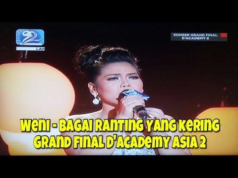 Weni, Indonesia - Bagai Ranting Yang Kering | Grand Final D'Academy Asia 2