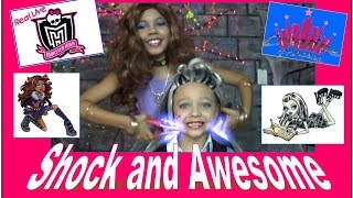 New Real Live Monster High | 'Shock and Awesome' - Creative Princess
