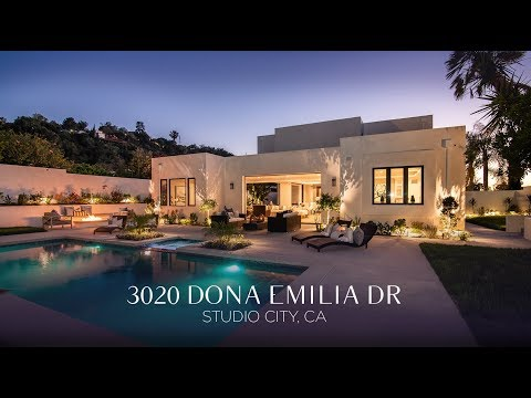 Studio City Modern Architectural View Property | 3020 Dona Emilia