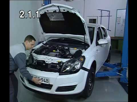 Front Bumper Removal Opel Astra H - YouTube