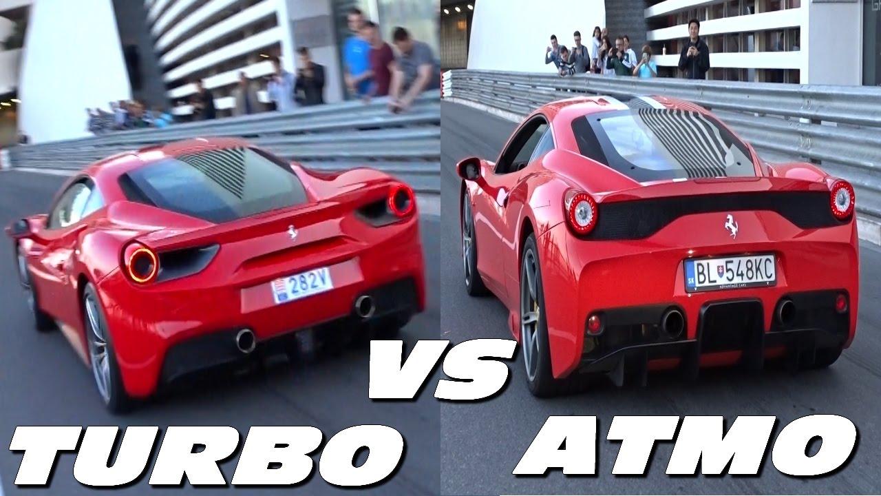 FERRARI / V8 ATMO VS V8 TURBO ! Choose one ! - YouTube