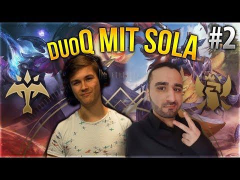 Sola x Silphi Duo Q! #2 [League of Legends] [Deutsch / German]