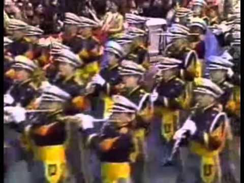University High School Marching Band Macy's Parade 1995