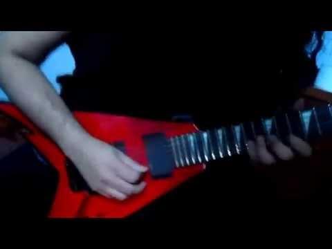 Megadeth - Tornado of souls SOLO en D!! (Cover por Kevin Villanueva)