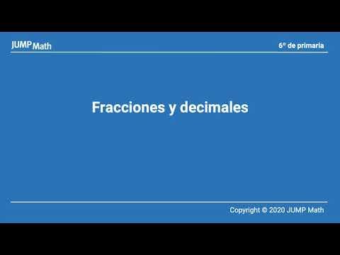 6. Unidad 7 .Fracciones y decimales I