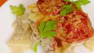 Рецепт французского мяса с картошкой в духовке