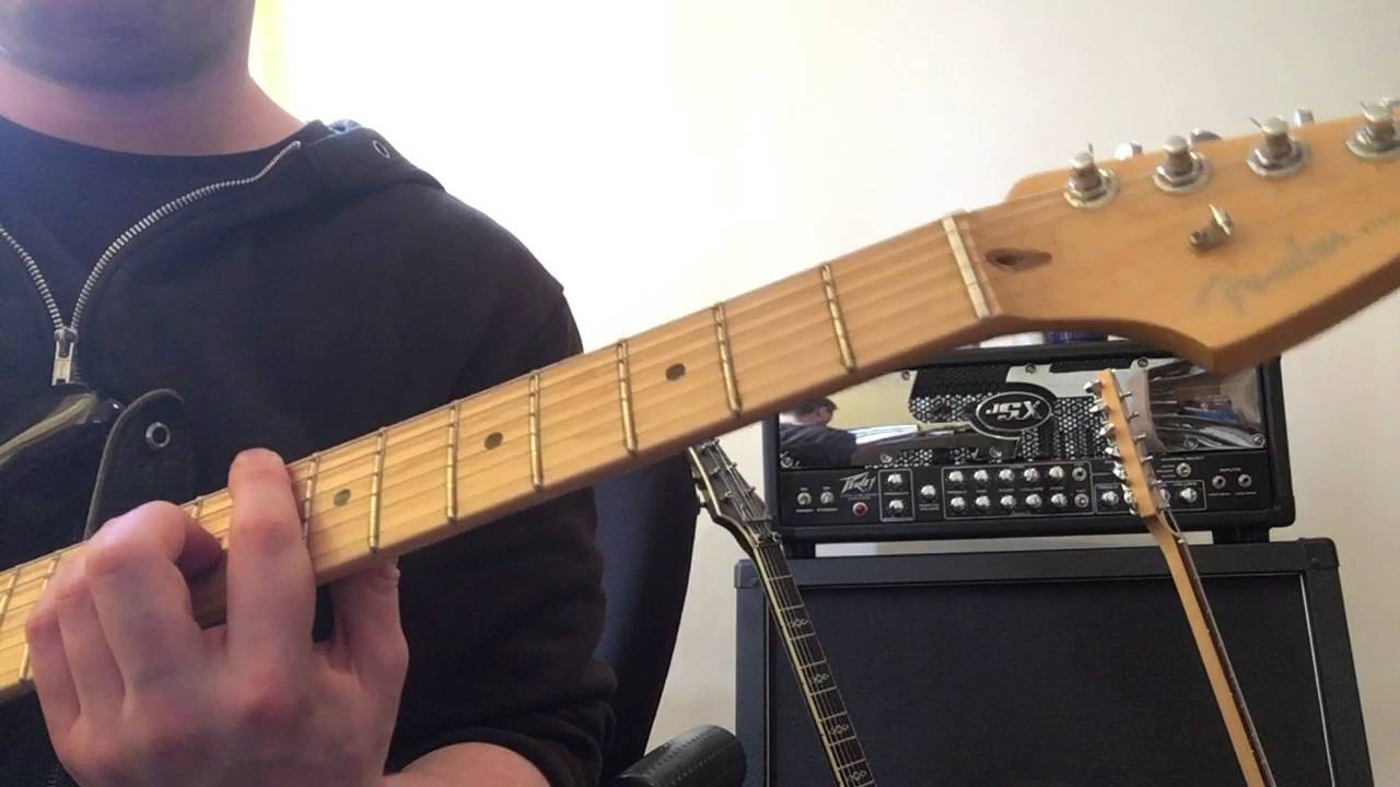 Tainted Love By Imelda May Guitar Cover Youtube