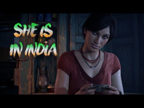 SHE IS IN INDIA ' Uncharted Lost Legacy' #1