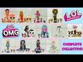 LOL Surprise OMG Fashion Dolls Complete Collection LOL Surprise Winter Disco Amazing Surprise