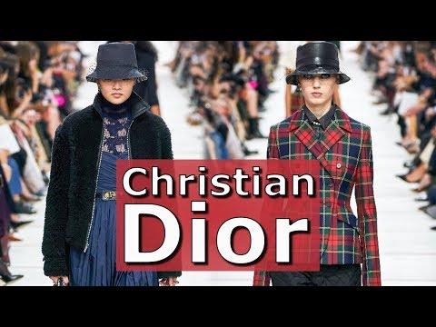 Christian Dior Модная осень-зима 2019/2020 в Париже / Одежда, сумки и аксессуары