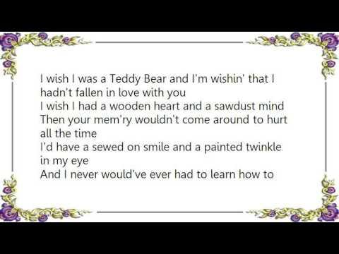 Jean Shepard - Teddy Bear Song Lyrics