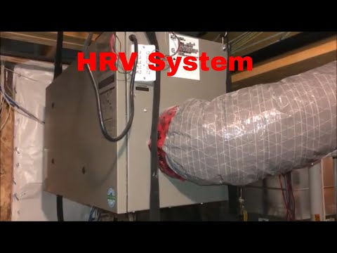 #9 Heat Recovery  Ventilation (HRV) System