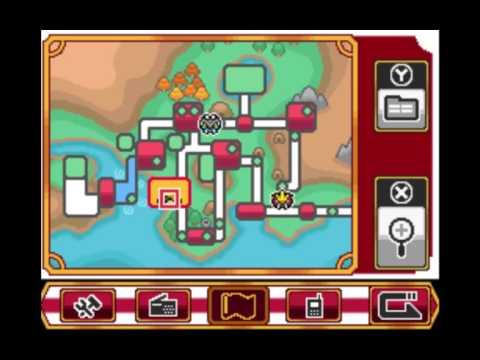 Pokemon Heart Gold/Soul Silver Playing Poke Flute in Johto