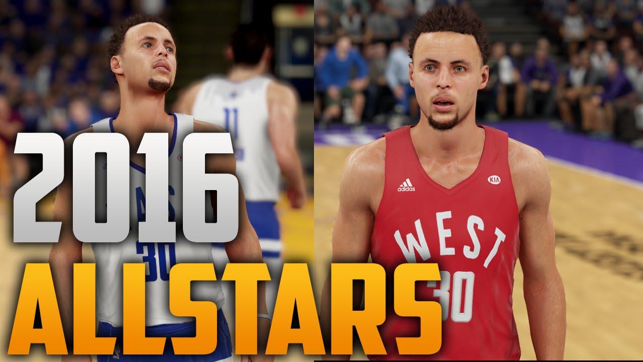 698e4ae31575 NBA 2K16 2016 NBA Allstar Jerseys Tutorial - YouTube