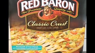 Red Baron: Mexican Style Pizza Review