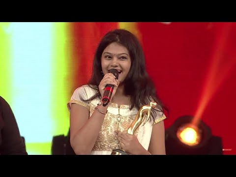 BEST FEMALE VOCALIST OF THE YEAR 2015 - RAMYA BEHARA