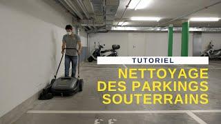 FRE No8 Nettoyage des parkings souterrains