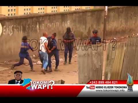 RDC Etat d'urgence : Intimidations et violences policières en RDC, 31 Décembre 2017