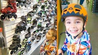 VLOG - LE CRI DU KANGOUROU - Shopping Sportif Équipement Roller