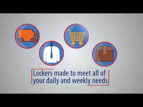 click n collect parcel grocery laundry lockers youtube. Black Bedroom Furniture Sets. Home Design Ideas