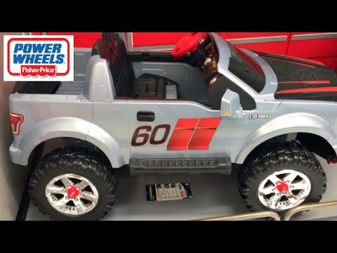 power wheels ford f 150 extreme sport ride on truck toy review youtube. Black Bedroom Furniture Sets. Home Design Ideas