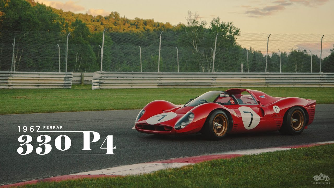 Nice The Ferrari 330 P4 Is One Sexy Beast   YouTube Amazing Pictures
