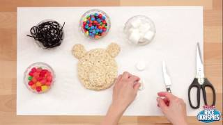 How to Make a Polar Bear Rice Krispies Treat