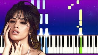 Camila Cabello - Easy (Piano Tutorial)