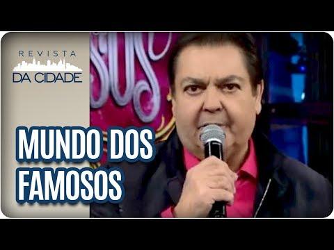 Estreia Do Show Dos Famosos + Rescisão De William Waack - Revista Da Cidade (02/04/18)