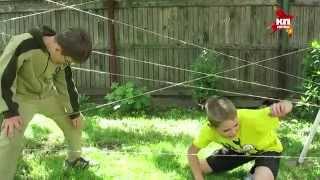Веселые развлечения для детей на даче